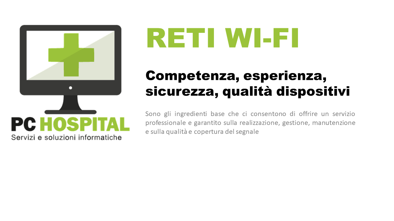 pc hospital reti wifi, wireless